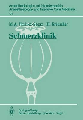 Schmerzklinik - Anaesthesiologie und Intensivmedizin / Anaesthesiology and Intensive Care Medicine 171 (Paperback)