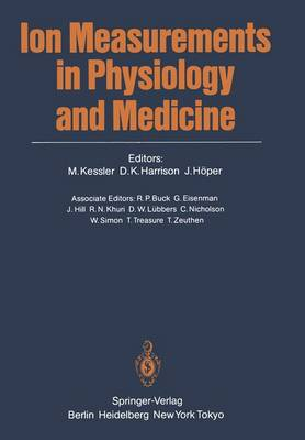 Ion Measurements in Physiology and Medicine (Paperback)