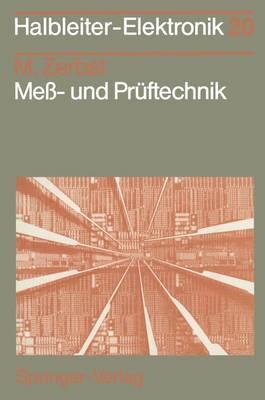Mess- und Pruftechnik - Halbleiter-Elektronik 20 (Paperback)