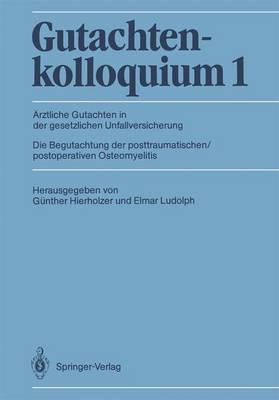 Gutachtenkolloquium: 1 (Paperback)
