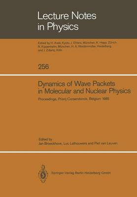 Dynamics of Wave Packets in Molecular and Nuclear Physics: Proceedings of the International Meeting Held in Priorij Corsendonck, Belgium July 2-4, 1985 - Lecture Notes in Physics 256 (Paperback)