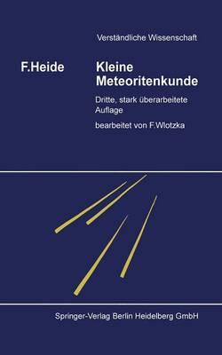 Kleine Meteoritenkunde (Paperback)
