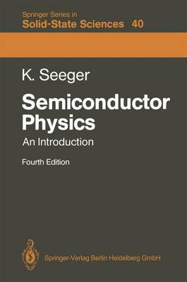 Semiconductor Physics: An Introduction (Paperback)