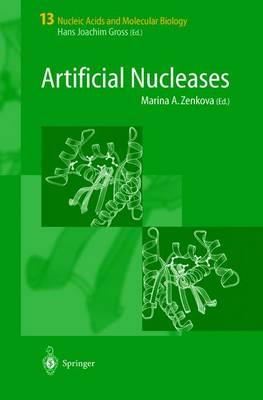 Artificial Nucleases - Nucleic Acids and Molecular Biology 13 (Hardback)