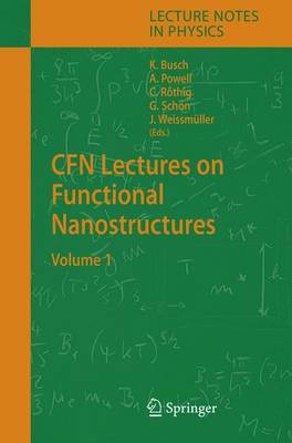CFN Lectures on Functional Nanostructures: Volume 1 - Lecture Notes in Physics 658 (Hardback)