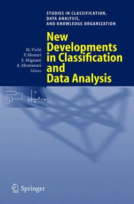 New Developments in Classification and Data Analysis: Proceedings of the Meeting of the Classification and Data Analysis Group (CLADAG) of the Italian Statistical Society, University of Bologna, September 22-24, 2003 - Studies in Classification, Data Analysis, and Knowledge Organization (Paperback)