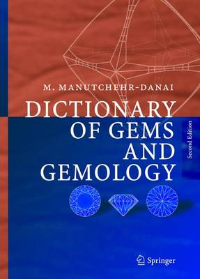 Dictionary of Gems and Gemology (Hardback)