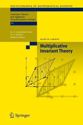 Multiplicative Invariant Theory - Encyclopaedia of Mathematical Sciences 135 (Hardback)