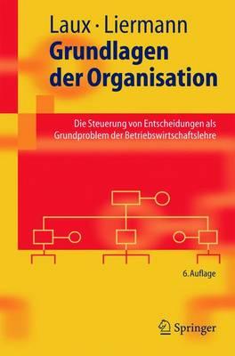 Grundlagen Der Organisation: Die Steuerung Von Entscheidungen Als Grundproblem Der Betriebswirtschaftslehre (Paperback)