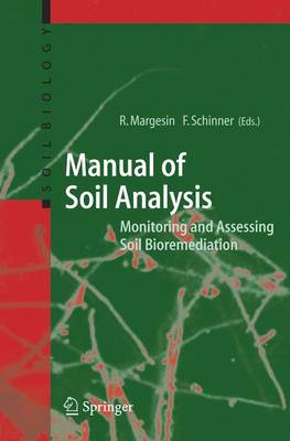 Manual for Soil Analysis - Monitoring and Assessing Soil Bioremediation - Soil Biology 5 (Hardback)