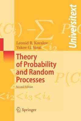 Theory of Probability and Random Processes - Universitext (Paperback)