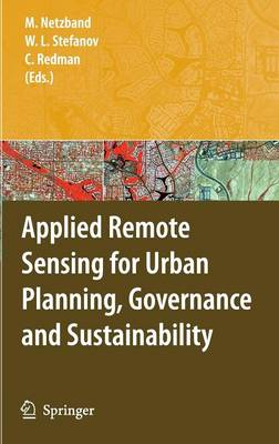 Applied Remote Sensing for Urban Planning, Governance and Sustainability (Hardback)