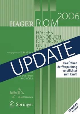 Hagerrom 2006. Hagers Handbuch Der Drogen Und Arzneistoffe: Mehrplatzversion/Windows/up-Date (CD-ROM)
