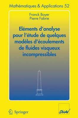 Elements D'Analyse Pour L'Etude De Quelques Modeles D'Ecoulements De Fluides Visqueux Incompressibles - Mathematiques et Applications v. 52 (Paperback)