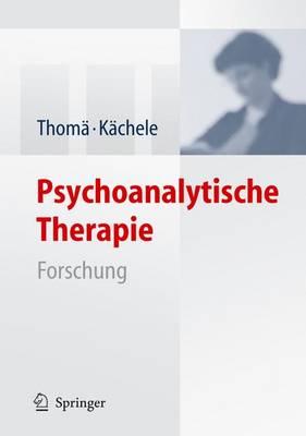 Psychoanalytische Therapie: Forschung (Book)