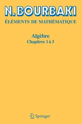 Algebre: Chapitre 4 a 7 (Paperback)