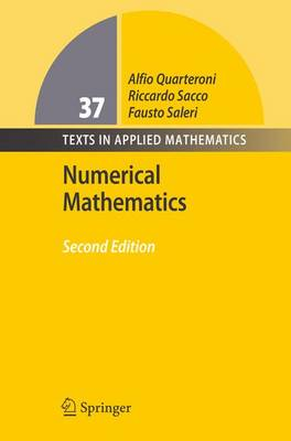 Numerical Mathematics - Texts in Applied Mathematics 37 (Hardback)
