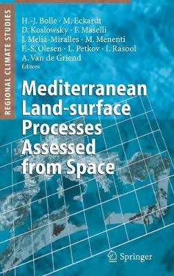 Mediterranean Land-surface Processes Assessed from Space - Regional Climate Studies (Hardback)