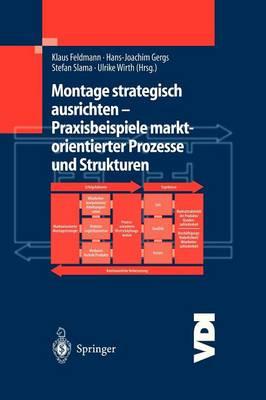 Montage Strategisch Ausrichten - Praxisbeispiele Marktorientierter Prozesse Und Strukturen (Paperback)