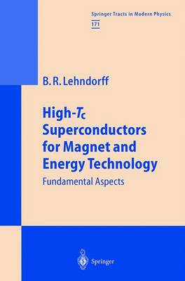 High-Tc Superconductors for Magnet and Energy Technology: Fundamental Aspects - Springer Tracts in Modern Physics 171 (Hardback)