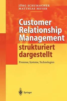 Customer Relationship Management Strukturiert Dargestellt: Prozesse, Systeme, Technologien (Hardback)