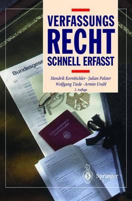 Verfassungsrecht: Schnell Erfa t - Recht - Schnell Erfasst (Hardback)