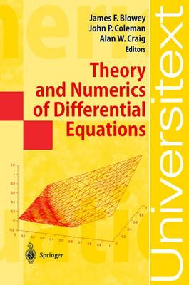 Theory and Numerics of Differential Equations: Durham 2000 - Universitext (Hardback)