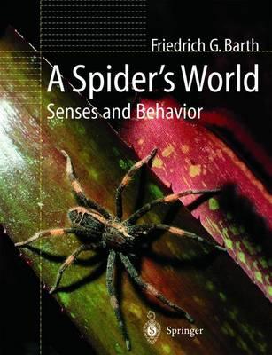 A Spider's World: Senses and Behavior (Hardback)