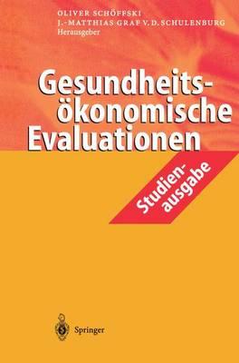 Gesundheitsvkonomische Evaluationen: Studienausgabe (Paperback)