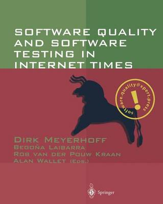 Software Quality and Software Testing in Internet Times (Paperback)