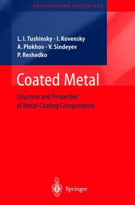 Coated Metal: Structure and Properties of Metal-Coating Compositions - Engineering Materials (Hardback)