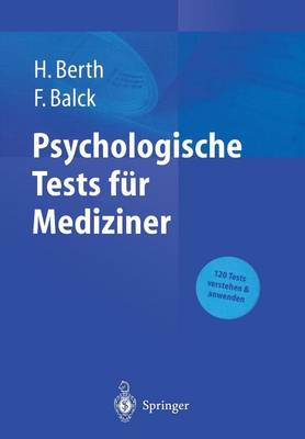 Psychologische Tests F r Mediziner (Hardback)