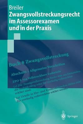 Zwangsvollstreckungsrecht Im Assessorexamen Und in Der Praxis - Springer-Lehrbuch (Hardback)