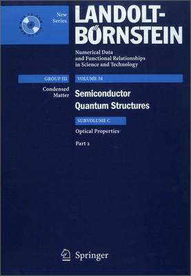 Optical Properties 2 - Condensed Matter 34C2