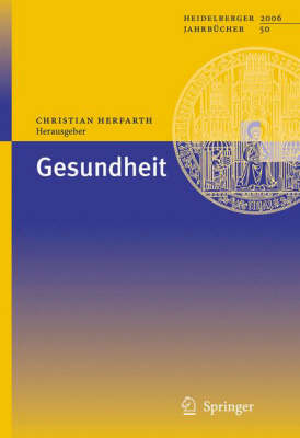 Gesundheit (Paperback)