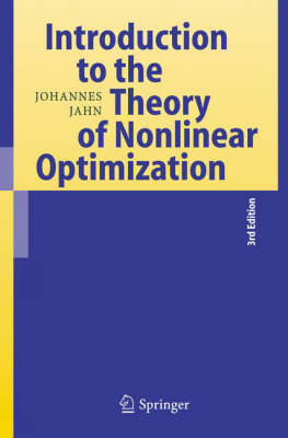 Introduction to the Theory of Nonlinear Optimization (Hardback)