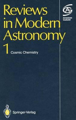 Cosmic Chemistry: Spring Meeting : Papers (Hardback)