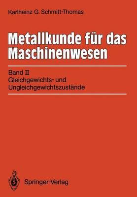 Metallkunde fur das Maschinenwesen (Paperback)