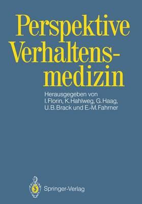 Perspektive Verhaltensmedizin (Paperback)