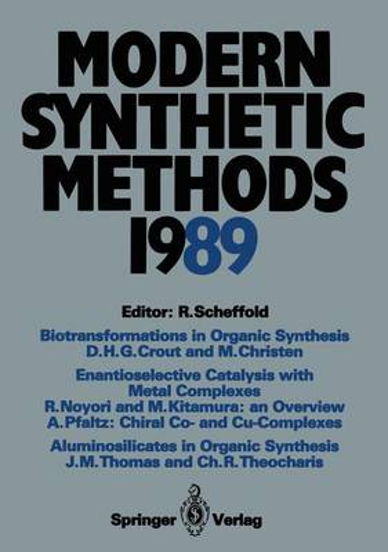 Modern Synthetic Methods 1989 - Modern Synthetic Methods 5 (Paperback)