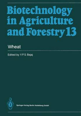 Wheat - Biotechnology in Agriculture and Forestry 13 (Hardback)