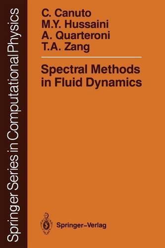 Spectral Methods in Fluid Dynamics - Scientific Computation (Paperback)
