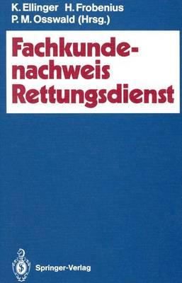 Fachkundenachweis Rettungsdienst (Paperback)