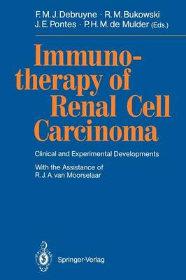 Immunotherapy of Renal Cell Carcinoma: Clinical and Experimental Developments (Paperback)