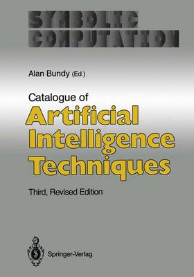 Catalogue of Artificial Intelligence Techniques - Symbolic computation - artificial intelligence (Hardback)