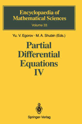 Partial Differential Equations IV: Microlocal Analysis and Hyperbolic Equations - Encyclopaedia of Mathematical Sciences 33 (Hardback)
