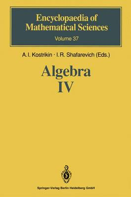 Algebra IV: Infinite Groups. Linear Groups - Encyclopaedia of Mathematical Sciences 37 (Hardback)