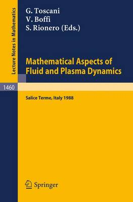 Mathematical Aspects of Fluid and Plasma Dynamics: Proceedings of an International Workshop held in Salice Terme, Italy, 26-30 September 1988 - Lecture Notes in Mathematics 1460 (Paperback)