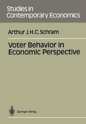 Voter Behavior in Economics Perspective - Studies in Contemporary Economics (Paperback)