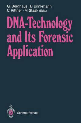 DNA - Technology and Its Forensic Application (Paperback)